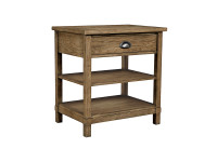 Union Square Bedside Table - Amaretto