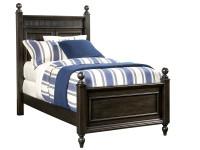 Elizabeth Panel Bed Twin - Molasses