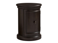 Elizabeth Bedside Drum Table - Molasses