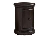 Elizabeth Bedside Drum Table - Molasses
