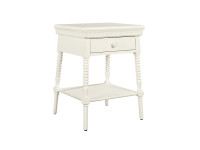 Elizabeth Bedside Table - White