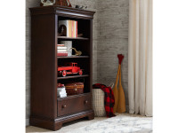 Sydney Bookcase - Dark Cherry