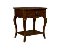 Sydney Bedside Table - Dark Cherry
