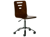 Sydney Desk Chair - Dark Cherry