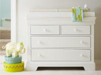 Sydney Single Dresser - White