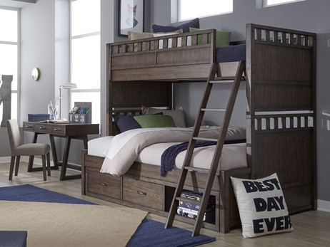 Shown with the optional Underbed Storage Unit