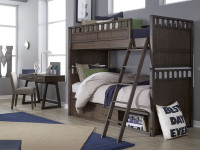 Bradley Bunk Bed, Twin/Twin