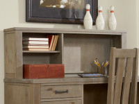 Seaview Desk Hutch - Driftwood
