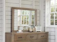 Seaview Landscape Mirror - Driftwood
