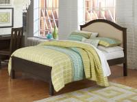 Seaview Upholstered Bed Full - Espresso