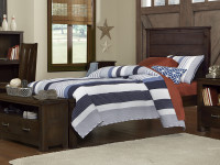 Seaview Panel Bed Twin - Espresso