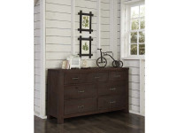 Seaview 7 Drawer Dresser - Espresso