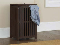 Seaview Clothes Hamper - Espresso