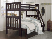 Seaview Bunk Bed Twin over Full - Espresso