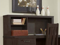 Seaview Desk Hutch - Espresso