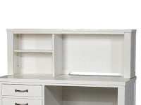 Seaview Desk Hutch - White