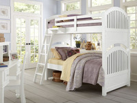Lakeview Bunk Bed Twin/Twin - White