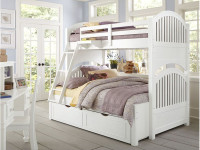 Lakeview Bunk Bed Twin/Full - White