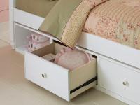 Lakeview Storage Unit - White