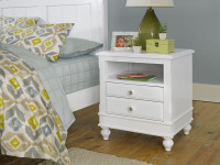 Lakeview Nightstand - White