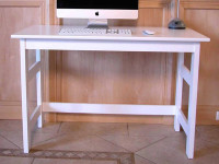 Solid Pine Desk - Chalk