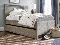 Key Biscayne Panel Bed with Trundle - Twin