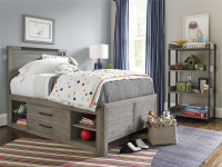 Key Biscayne Panel Bed with Storage Drawers - Twin