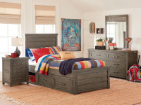Buckeye Panel Bed Twin