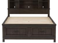 Farmhouse Bookcase Bed - Queen
