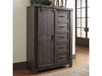 Farmhouse Sliding Door Chest