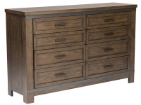 Farmhouse 8 Drawer Dresser