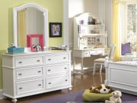 Ashley Dresser & Arched Mirror