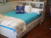 2 Drawer Captains Bed