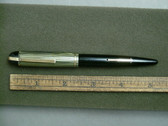 EVERSHARP SKYLINE FOUNTAIN PEN W/ DUBONET CAP IN GREEN STRIPE