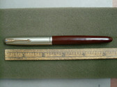 PARKER 51 VAC-FILL FOUNTAIN PEN CORDOVAN BROWN