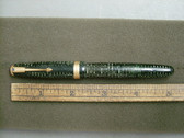 PARKER VACUMATIC FOUNTAIN PEN GREEN PEARL FLEXIBLE