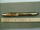 SHEAFFER BALANCE MILITARY CLIP FOUNTAIN PEN