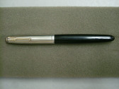 Parker 51 Vac-Fill India Black Fountain Pen