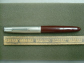Parker 51 Demi Vac-Fill Fountain Pen Cordovan Brown