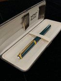 Montblanc Noblesse Oblige Green Fountain Pen New in Box