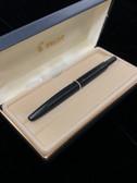 Faceted NAMIKI Matte Black Vanishing Point Fountain Pen