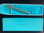 TIFFANY BALLPOINT PEN WITH ORIGINAL BOX ND SLEEVE