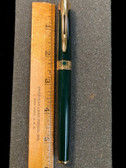 WATERMAN L'ETALON GREEN LACQUER GOLD TRIM FOUNTAIN PEN NEW IN BOX