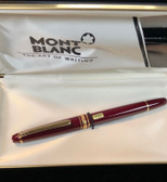 MONTBLANC MEISTERSTUCK 163R BORDEAUX ROLLERBALL NEW IN BOX