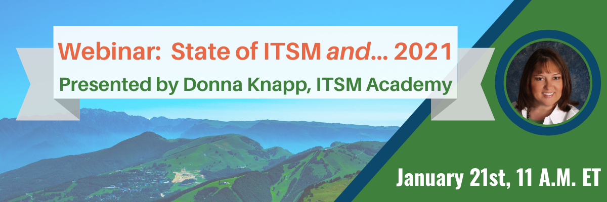 State of ITSM and... 2021