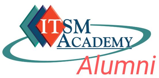 ITSM Academy Alumni