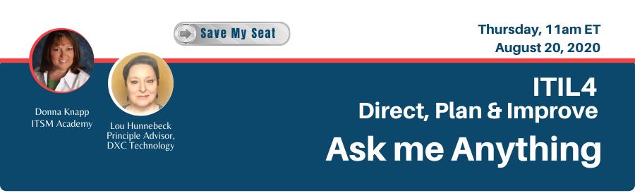 ITSM Academy Complimentary Webinar