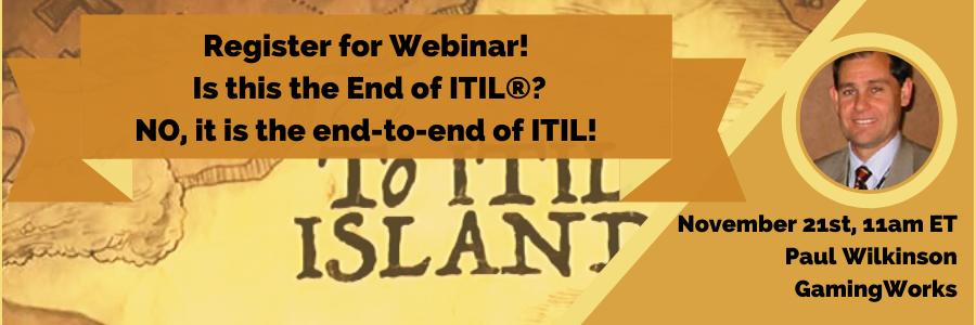 Webinar: ITIL