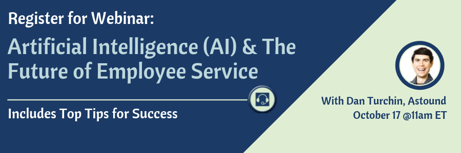 Artificial Intelligence (AI) & The Future of Employee Service