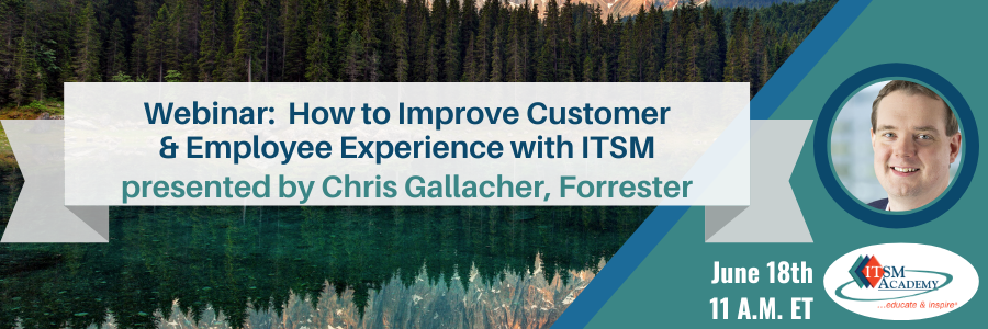 How to improve Customer and Employee Experience with IT Service Management